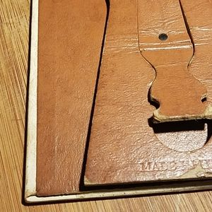 Accents - Vintage Leather Photo Frame